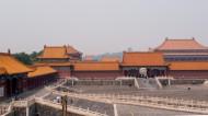 Zakázané mesto. Všimnite si pagodu vzadu na kopci