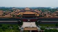 Pohľad z pagody na zakázané mesto